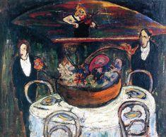 Separate Room (Marianne von Werefkin - 1909)