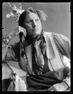 Samuel American Horse, Sioux, 1900, Gertrude Kasebier