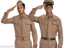 Ww Ii Us Army Marine And Navy Men In Uniform