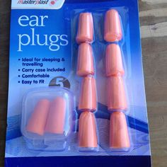 Ear Plugs a pack of 5 pairs. #Masterplast