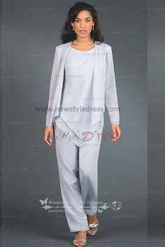 Hand Beading Elegant Elastic pants Mother of the bride pants suit nmo-105
