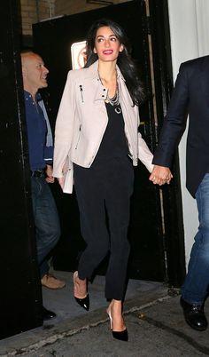 Copie o look: Amal Alamuddin Clooney