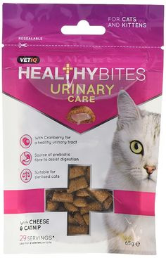 VetIQ Healthy Bites Urinary Care for cats and kittens 65g (8x65G)