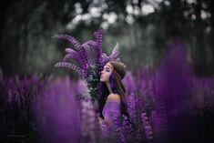 Портретная Фотография, Красивые Женщины, Фиолетовый, Фотографии, Ведьмы, Живописные Пейзажи, Стиль
