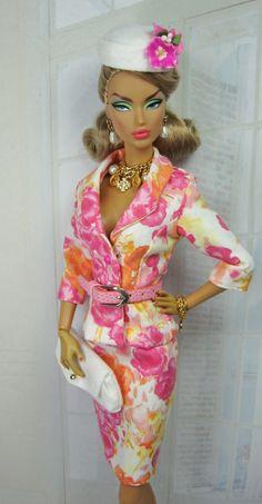 Impressive Barbie clothes.