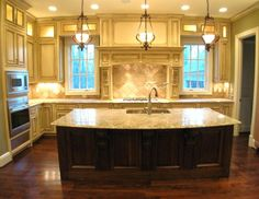 Pinterest the world s catalog of ideas for Very large kitchen island