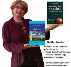 Nellie Jacobs (@nelliejacobs) | Twitter Opportunity Knocks, Parents As Teachers, Teacher Blogs, Book Club Books, Storytelling, Creativity, Parenting, Author, Motivation