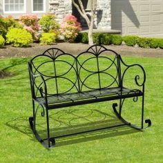 Poze BAN204 - Banca metalica gradina, exterior, balansoar Outdoor Furniture, Outdoor Decor, Bench, Park, Metal, Home Decor, Homemade Home Decor, Benches, Parks