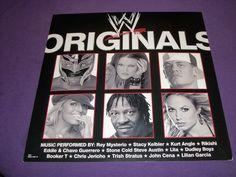 "WWE / WWF Originals / Very Rare 2004 Columbia Records Promo Poster 12"" x 12"""