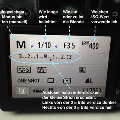 Photo Tips - How do I manually set my camera? How do I manually set my camera? More about the ISO value, aperture and shutter speed (shutter speed).