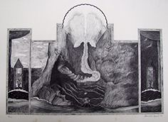 Rare David Lynch Art That Helped Fund Eraserhead, For Auction