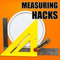 Time saving measuring tips and tricks! #woodworkingtips #woodworkingtools