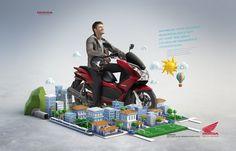 Honda PCX. | Client: Honda | Agency: Young SP