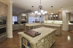 Chef's kitchen. Double ogee edge granite countertops. http://www.johndaugherty.com/92273894//635-Hedwig-St @Vickie Driscoll