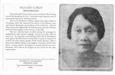 Felicidad Climaco, Suffragette and Nationalist from Cebu, Philippines