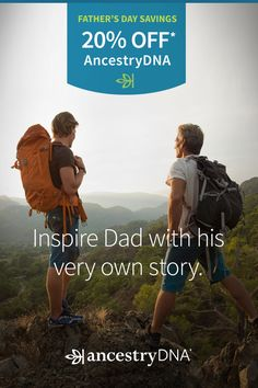AncestryDNA is just $79 for Father's Day. What will Dad do when he discovers his ethnic origins and the cultural traditions of his past?
