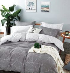 Minimalist Quilt Cover Vs Bedspread Minimalist Quilt Cover Vs Bedspread - This Minimalist Quilt Cover Vs Bedspread gallery was upload on January, 4 2020 by admin. Here latest Minimalist . Bed Decor, Grey Bedding, Geometric Bedding, Comfy Bed, Simple Bed, Grey Bed Covers, Grey Bed Sheets, Minimalist Bed, Grey Comforter Bedroom