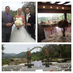 Wedding at Dove Canyon in orange county. A beautiful backdrop for any celebration