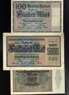 Germany: Three (3) Inflation Banknotes https://rover.ebay.com/rover/1/711-53200-19255-0/1?ff3=2&toolid=10040&campid=5337817697&customid=&lgeo=1&vectorid=229466&item=222510331816