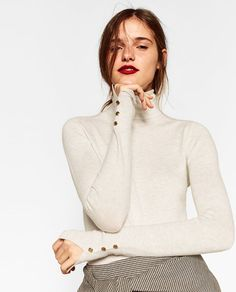 Image 1 of TURTLENECK SWEATER from Zara