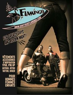 Pin Up, Rockabilly, Flamingo, Advertising, Boutique, Movie Posters, Movies, Man Women, Kid