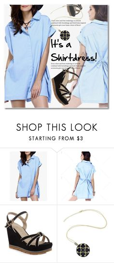"""""""It's a Shirt! It's a Dress! It's a Shirtdress!"""" by svijetlana ❤ liked on Polyvore featuring vintage, shirtdress, polyvoreeditorial and twinkledeals"""