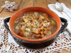 Ricetta zuppa di farro castagne e funghi