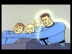1967 Fantastic Four Cartoon Intro