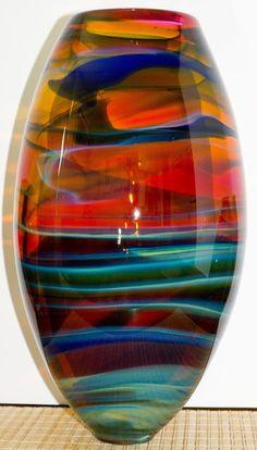 Essence of a woman Art Of Glass, Blown Glass Art, Glass Vase, Sculpture Art, Sculptures, Glass Ceramic, Decorative Glass Bowls, Crystal Vase, Glass Design