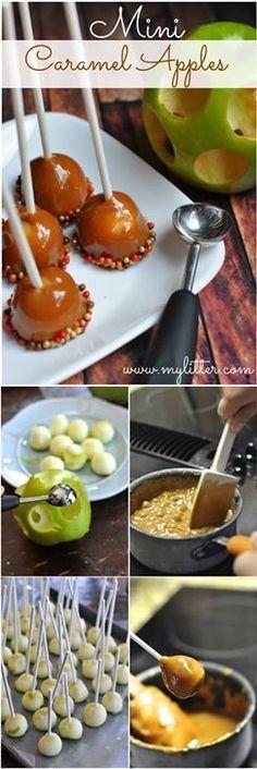 Delicious Caramel Apples...