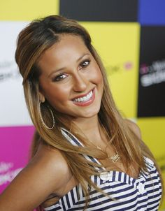 Charming seductress Adrienne Bailon ...Fabulous Hairstyles...