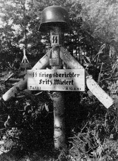 SS Kriegsberichter Fritz Mielert, KIA 10 August 1941 worldwartwo.filminspector.com