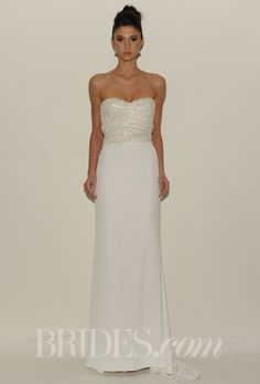 Brides: Rafael Cennamo - Spring 2014 | Bridal Runway Shows | Wedding Dresses and Style | Brides.com