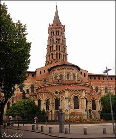 Basilica of Saint Sernin in Toulouse - Toulouse, Midi-Pyrenees