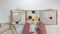 Echo Park Sweet Day Mini Album -There is a tutorial for making this album on the you tube site