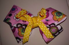 Fun+in+the+sun+bow+by+VannahsCloset+on+Etsy,+$5.25