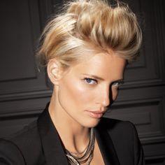 Chignon coque Fabien Provost #coiffure coque #hairstyle #cheveux