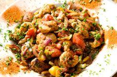 Poulet et crevettes à l'espagnole - Châtelaine