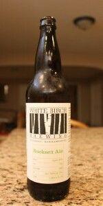 White Birch Hooksett Ale