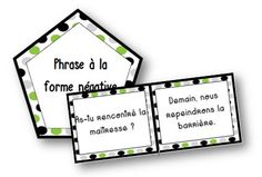 Jeu types de phrases - La classe de Mallory - Ressources pour le CM French Verbs, French Grammar, Class Games, Class Activities, Learning A Second Language, Learning Spanish, French Class, Teaching French, Best Teacher