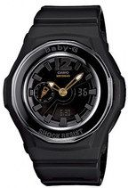 Casio Baby-G Quartz Small Second Hand Analog Digital (2011) Watch # BGA-141-1B (Women Watch)