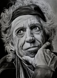 keith richards by luceene-k on DeviantArt