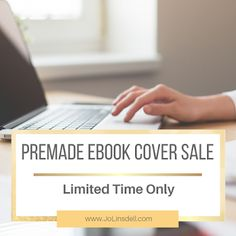 Premade eBook Cover Sale: Today I'm going to do something totally crazy. I'm giving you a special offer valid on ALL my premade designs. For a limited time only you can grab any ebook cover design for just Ebook Cover Design, Website Security, Premade Book Covers, Letter Board, Articles, My Love, Creative, Books, Blogging