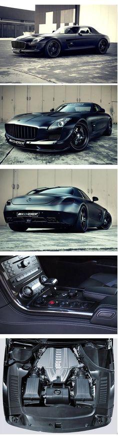 2012 MERCEDES-BENZ SLS AMG SUPERCHARGED GT BY KICHERER