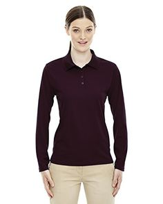 f9429b20 Core 365 Ladies Pinnacle Performance Piqué Polo * Read more at the image  link. (