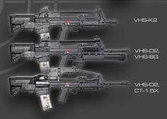 vhs-2 rifle - Google 検索