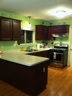 Testimonial Gallery: Rust-Oleum Cabinet Transformations® - A Revolutionary Kitchen Transformation System -- CABERNET