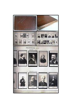 French Collectible Photos, Felix Potin Album, 500 contemporary celebrities photos, circa 1890, Trade Cards, Nadar Photo, Collectible Photo
