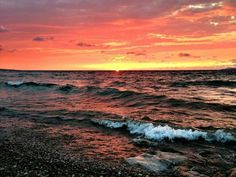 Morning Sky, Petoskey, Michigan