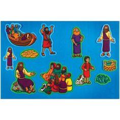 Play figurines / storytelling visuals: Miracles Of Jesus Pre-cut